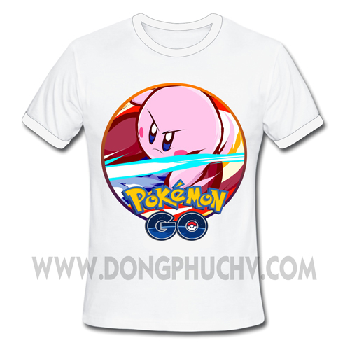 Áo Game Pokemon Go Kirby