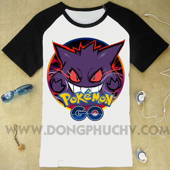 Áo Game Pokemon Go Gengar